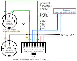midi cable wiring diagram diagram wiring diagrams for diy car