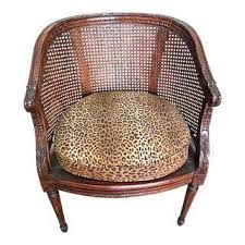 Animal Print Accent Chair Vintage Used Animal Print Accent Chairs Chairish