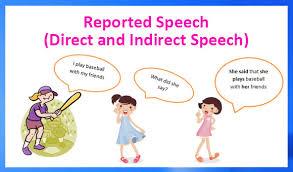 reported speech direct and indirect speech u2013 english grammar