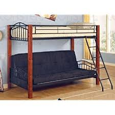Amazoncom Dorel Home Products TwinOverFull Futon Bunk Bed - Futon bunk bed frame