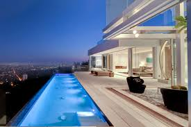 riviera pools and spas your premiere pool designer and builder infinity pool in west hollywood