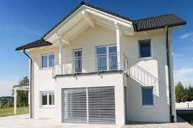 Ein Haus Haus Mit Giebeldach