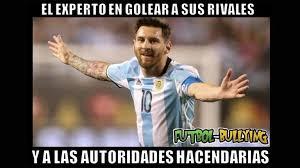 Memes De Lionel Messi - memes del hat trick de messi ante panam磧 fotos