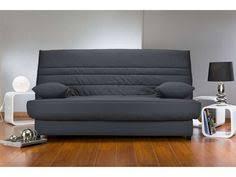 canapé lit clic clac conforama banquette lit clic clac avec matelas dunlopillo elea coloris noir
