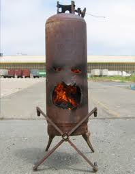 Propane Outdoor Firepit Mr The Outdoor Fireplace Made From Propane Tank 5