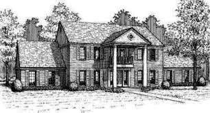 Georgian Style Home Plans Georgian Style House Plans Plan 8 498