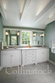 Double Vanity Mirrors For Bathroom by Beautiful Bathroom With Double Sink White Vanity With Window