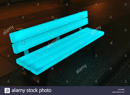 bench berlin berlin festival of lights led bench stock photo 88886593 alamy