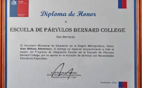 imagenes de reconocimientos escolares reconocimientos instituto bernard college