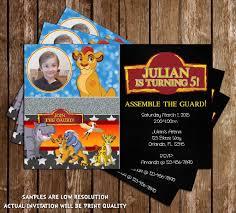 novel concept designs the lion guard lion king birthday
