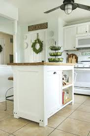kitchen island trash bin diy kitchen island with trash storage shades of blue interiors