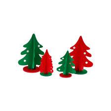 aliexpress com buy 1pcs non woven tree dimensional xmas tree