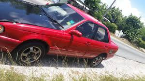 red nissan sentra 1991 red and black nissan sentra rhd 4 door for sale in kingston