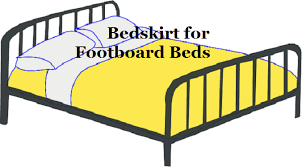 Bed Skirt With Split Corners How To Use A Bedskirt With A Footboard Linens U0027n U0027curtains