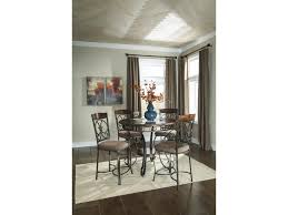 Dining Room Accent Furniture Signature Design By Ashley Glambrey Round Dining Room Counter