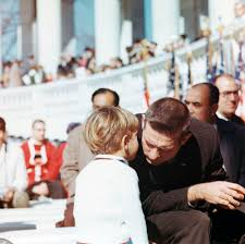St C389 1 63 John F Kennedy Jr Attends Veterans Day