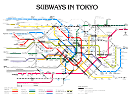 Chicago Train Station Map by Tokyo Subway Map Tokyo U2022 Mappery Maps Pinterest Subway Map