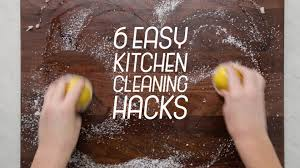 Kitchen Cleaning Tips Kitchen Cleaning Hacks Tastemade