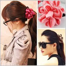 hairstyle for evening event pinky refine rakuten global market banana clip satin ribbon