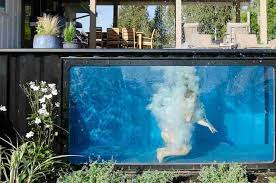 modpools are heated shipping container pools can be used year