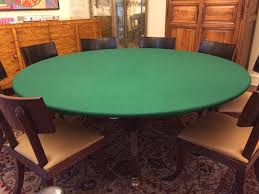 how to make a poker table felt poker table cloth bonnet cover for round square or