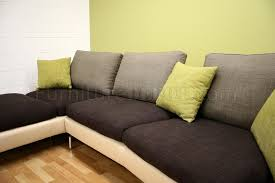 Sectional Cushions Tone Modern Sectional Sofa W Removable Cushions