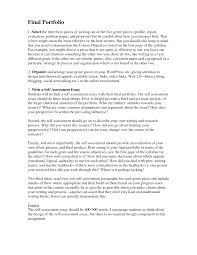 Sample Evaluation Essay Cover Letter Sample Evaluation Examples Essay Captivating Self