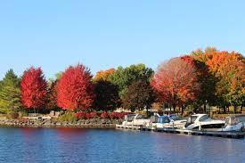 Autumn Colors Autumn Colours 1000 Islands Style Brockville Tourism
