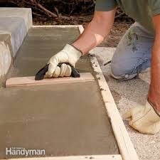 tips to build a concrete walkway family handyman