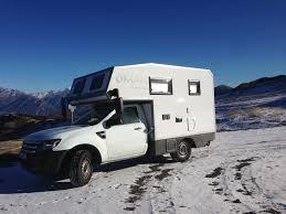 Ford Ranger With Truck Camper - burow reisemobile ford ranger oman motorhome full time