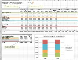 Budget Calculator Spreadsheet by How To Manage Your Entire Marketing Budget Free Budget Planner