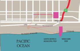 Map Of Santa Monica Downtown Santa Monica Field Guide U2013 Helya Haji Taheri Fieldnotes La