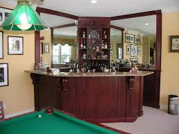 corner home bar ideas
