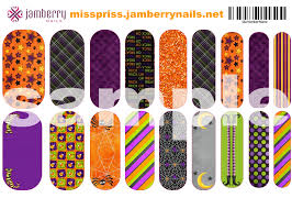 funky halloween jamberry nas design wraps contact me to order at