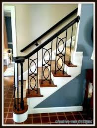 Iron Handrails For Stairs Creative Iron Designs