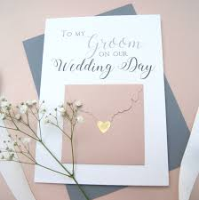 to my groom on our wedding day card to my groom wedding day card shop online hummingbird card company