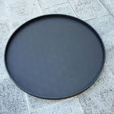 b home interiors b home interiors round polo tray xxl printed calfskin leather