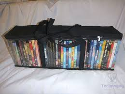 review of mivi collection set of 2 dvd storage bags technogog