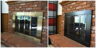 Polished Brass Fireplace Doors by How To Update Your Fireplace U2013 5 Easy Ideas