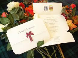 celtic wedding invitations scottish themed wedding wedding invitations with scottish