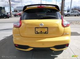 nissan juke yellow interior 2016 solar yellow nissan juke stinger edition awd 111661386 photo