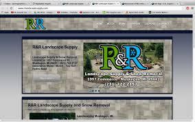 R R Landscaping by R U0026r Landscape Supply 231 Graphics And Website Design