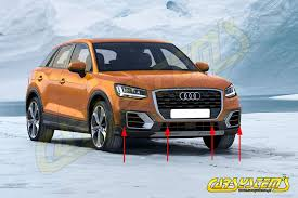audi parking system advanced q2 ga aps audi parking system front and rear set