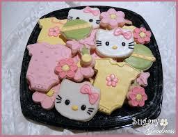 hello kitty baby shower cookie platter kim bell flickr