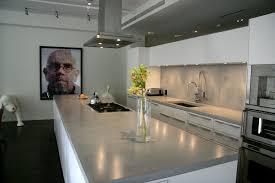 Concrete Kitchen Countertops Pretty Rectangle Gray Concrete Kitchen Countertops Beautiful White