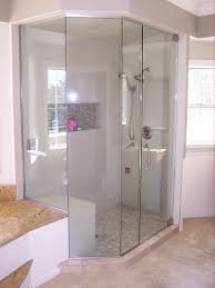 bathroom shower glass tile ideas comfortable home corner loversiq