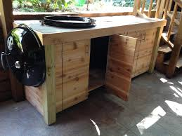 how to build a weber grill table weber grill cabinet2 jed buxton design build