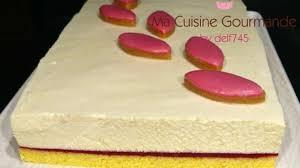 cuisine calisson entremets calisson framboise recette par delf745