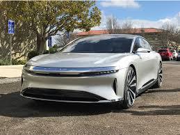 2019 lucid air electric car hd image 2019 lucid air electric car