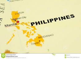 Philippines Map World by Philippines On Map Stock Photography Image 6838472